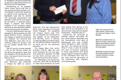 Carthannas donates £2000 to worthy causes