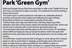 Eoropie Dunes Green Gym